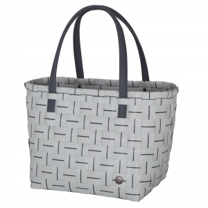 ELEGANCE Shopper concrete with dark grey