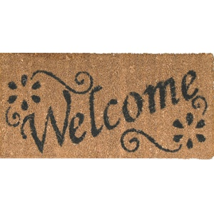 Coco Design Fußmatte ''Welcome'' Mini